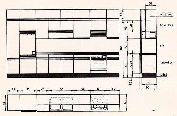 Hoogte Werkblad Keuken Ikea.Keukens Bouwkundig Detailleren Details Bouwkunde