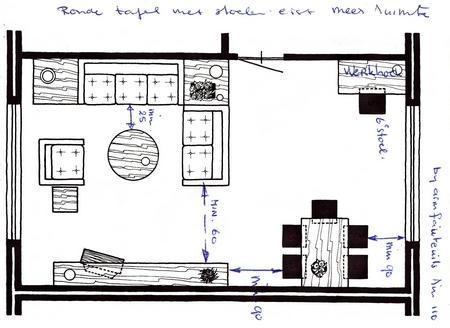 Interieur woonkamer: Bouwkundig detailleren - details bouwkunde.