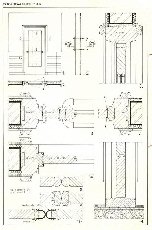 Bekend Binnendeuren en binnendeurkozijnen: Bouwkundig detailleren PD43