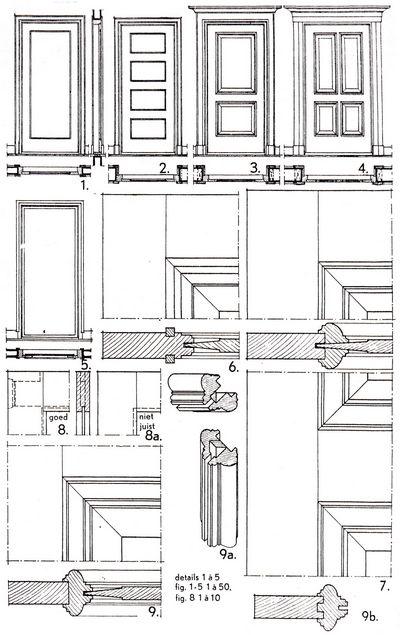 Super Binnendeuren en binnendeurkozijnen: Bouwkundig detailleren OH56