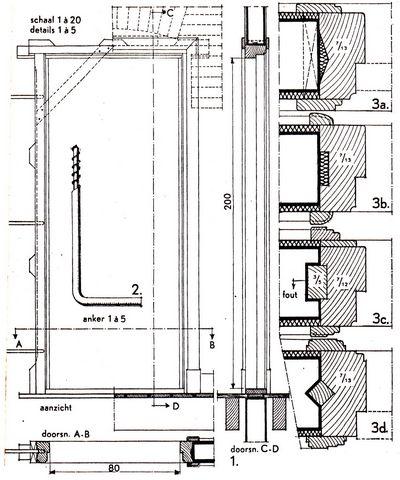 Bekend Binnendeuren en binnendeurkozijnen: Bouwkundig detailleren GK42