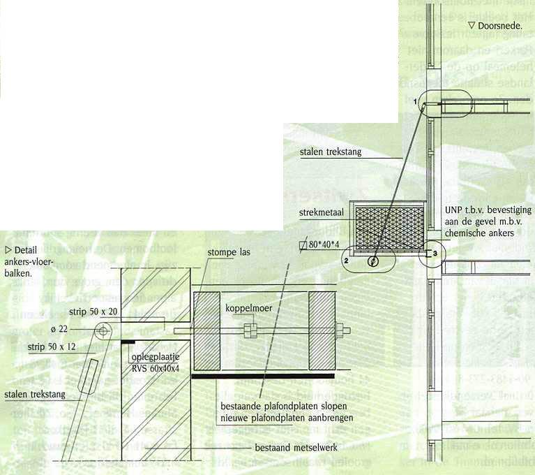 bron: hangende balkons van Architectenburo PJ Holtrop
